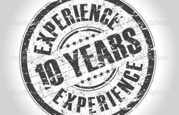10 jaar ervaring